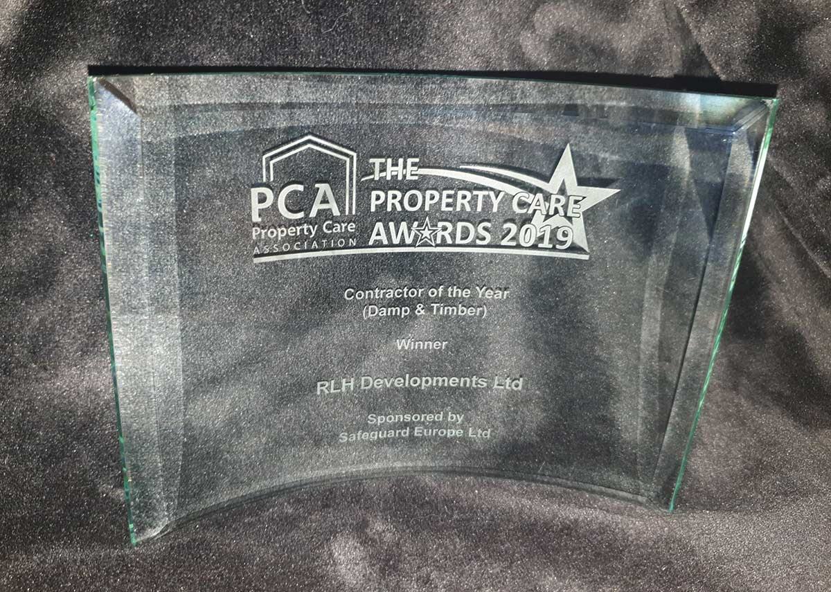 Property Care Association Award Winner 2019 - Contractor of the Year